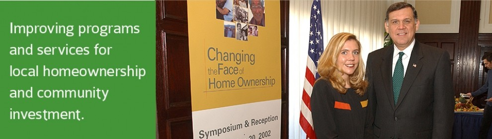 Improving programs and services for local homeownership and community investment.