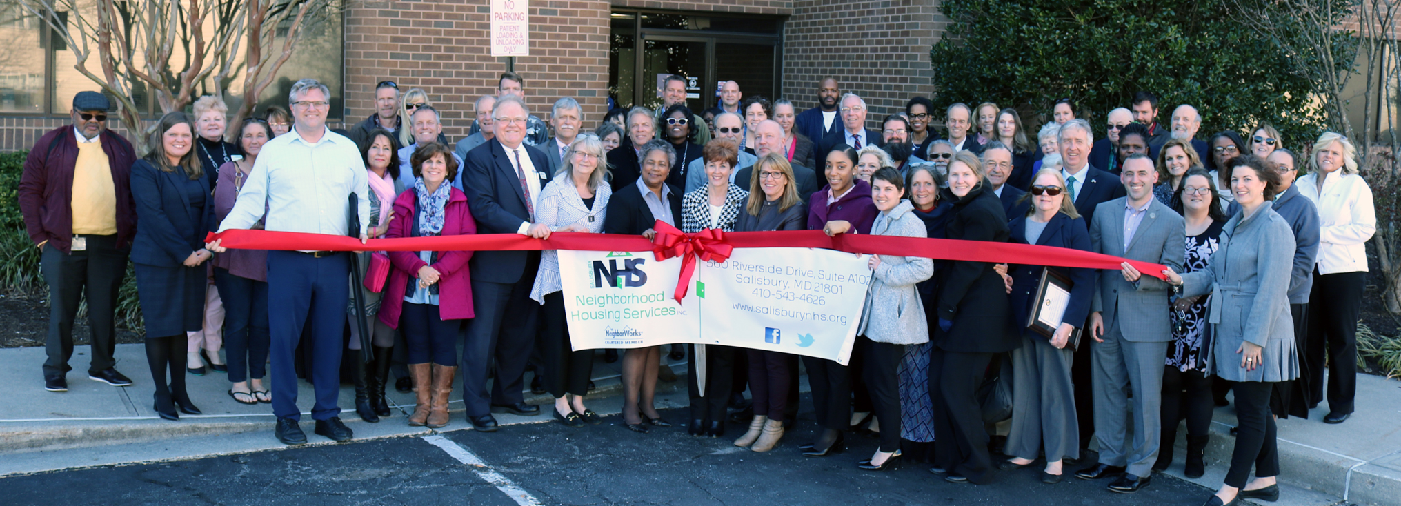 Ribbon Cutting for Salisbury Neighborhood Housing Services