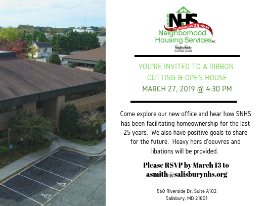SNHS Ribbon Cutting